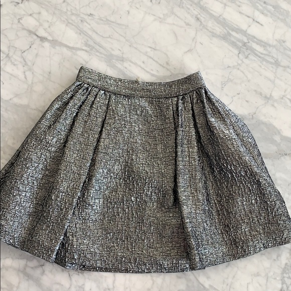 kate spade Dresses & Skirts - Kate spade aimee metallic textured pleat skirt
